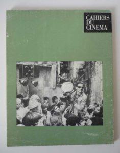 couverture Pasolini cinéaste Les cahiers du cinéma